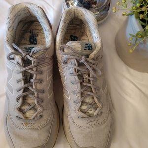 New Balance running shoes.